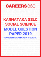 Karnataka SSLC Social Science Model Paper 2019
