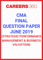 CMA Final Question Paper June 2019 Strategic Performance Management and Business Valuation