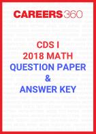 CDS I Maths Question Paper & Answer Key 2018