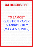 TS EAMCET Question Paper and Answer Key May 4 and 6, 2019