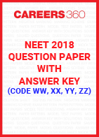 NEET 2018 Question Paper with Answer Key (Code WW, XX, YY, ZZ)