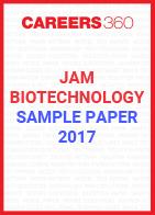 JAM Biotechnology Sample Paper 2017