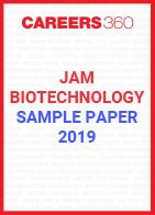 JAM Biotechnology Sample Paper 2019