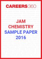 JAM Chemistry Sample Paper 2016
