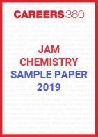 JAM Chemistry Sample Paper 2019