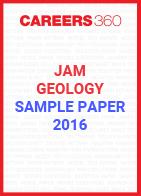 JAM Geology Sample Paper 2016