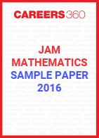 JAM Mathematics Sample Paper 2016