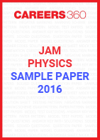 JAM Physics Sample Paper 2016