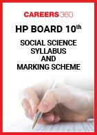 HP Board 10th Social Science Syllabus & Marking Scheme 2020