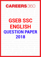GSEB SSC Question paper 2018 English