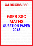 GSEB SSC Question paper 2018 Maths