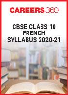 CBSE Class 10 French Syllabus 2020-21