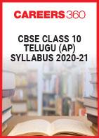CBSE Class 10 Telugu (AP) Syllabus 2020-21