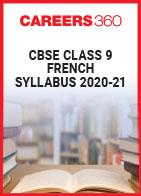 CBSE Class 9 French Syllabus 2020-21