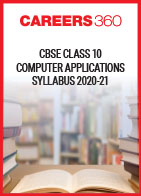 CBSE Class 10 Computer Applications Syllabus 2020-21