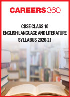 CBSE Class 10 English Language and Literature Syllabus 2020-21