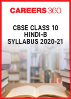CBSE Class 10 Hindi-B Syllabus 2020-21
