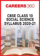 CBSE Class 10 Social Science Syllabus 2020-21