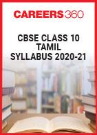 CBSE Class 10 Tamil Syllabus 2020-21