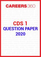 CDS 1 Question Paper 2020