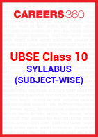 UBSE Class 10 Syllabus (Subject-wise)