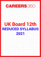 UK Board 12th reduced syllabus 2021