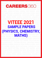 VITEEE 2021 Sample Papers (Physics, Chemistry, Maths)