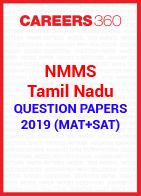 NMMS Tamil Nadu Question Papers 2019 (MAT+SAT)