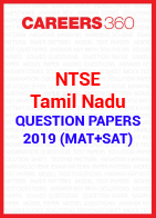 NTSE Tamil Nadu Question Papers 2019 (MAT+SAT)