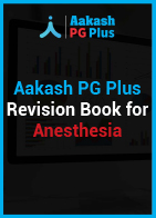 Aakash PG Plus Revision Book for Anesthesia