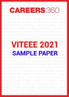VITEEE 2021 Sample Paper