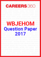 WB JEHOM 2017 Question paper