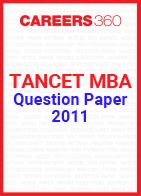 TANCET MBA Question Paper 2011