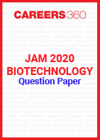 JAM 2020 Biotechnology Question Paper
