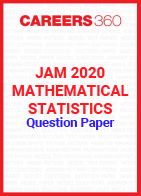 JAM 2020 Mathematical Statistics Question Paper