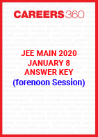 JEE Main 2020 Paper 1 Official Answer Key (Forenoon Session) - January 8