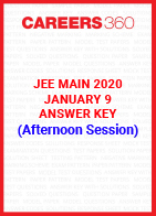 JEE Main 2020 Paper 1 Official Answer Key (Afternoon Session) - January 9