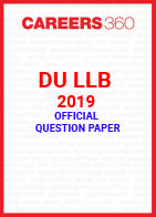 DU LLB 2019 Question Paper