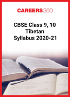 CBSE Class 9, 10 Tibetan Syllabus 2020-21