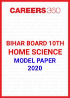 Bihar Board 10th Home Science Model Paper 2020