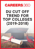 DU Cut Off Trend For Top Colleges (2019-2018)