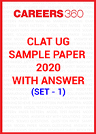 CLAT Sample Paper 2020 with answers Set - 1