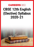 CBSE 12th English (Elective) Syllabus 2020-21