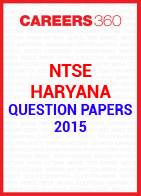 NTSE Haryana Question Papers 2015