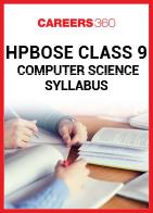 HPBOSE Class 9 Computer Science Syllabus