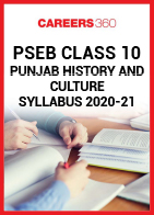 PSEB Class 10 Punjab History and Culture Syllabus