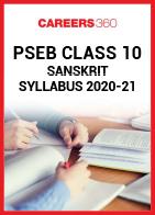 PSEB Class 10 Sanskrit Syllabus