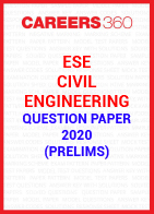 ESE Civil Engineering Question Paper 2020 (Prelims)