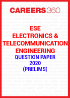ESE Electronics & Telecommunication Engineering Question Paper 2020 (Prelims)