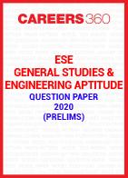 ESE General Studies & Engineering Aptitude Question Paper 2020 (Prelims)